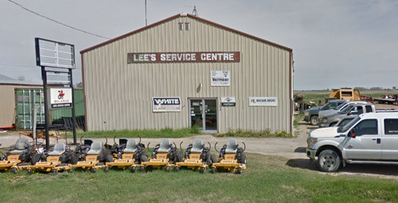 Farm Equipment Dealer - Lee's Service Centre - Manitoba